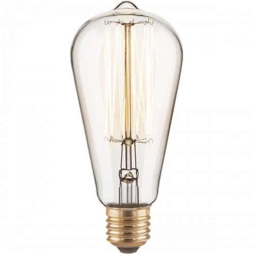 Ретро лампа Эдисона ST64 40W