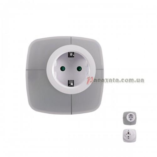 LED-ночник 0,6W с розеткой NL-03W